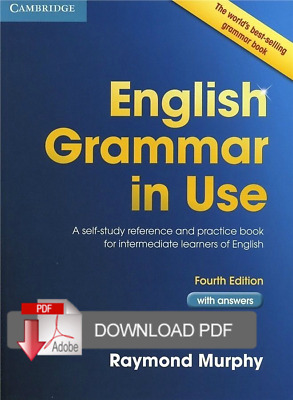 English Grammar in Use with Answers, Intermediate, 4th edition EB00K pdf