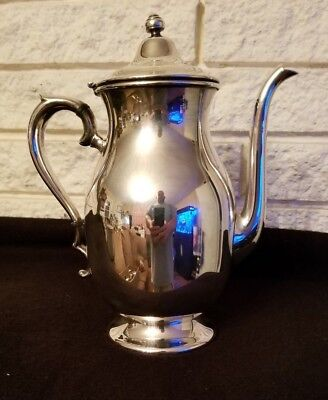 Keystoneware Silver Plated on Copper Teapot