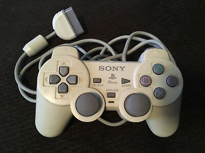 Official OEM - Sony PlayStation 1 PS1 PSone Dual Shock Controller - TESTED