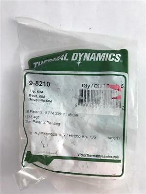 NEW Genuine Thermal Dynamics 9-8210 5 Pack Tips 60A