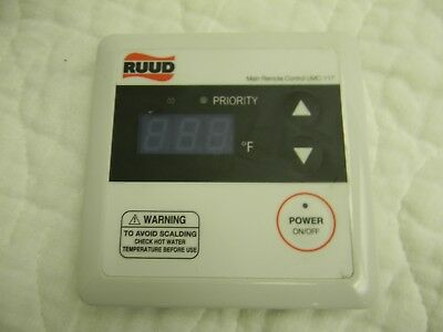 rheem umc-117 tankless water remote control thermostat without cable