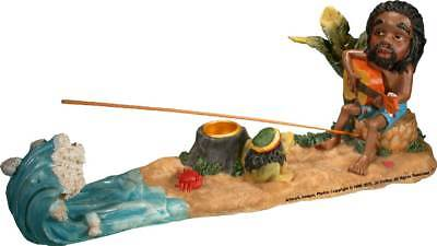 Rasta Beach Jam'n and Magic Frog Stick Incense burner #3016, by Nose Desserts
