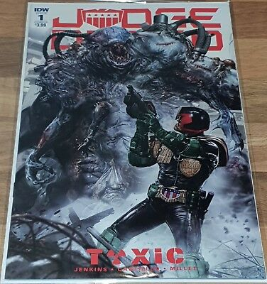 Judge Dredd Toxic #01. Cover B John Gallagher new release NM.