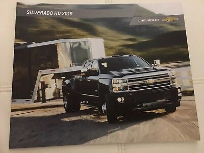 2019 CHEVY SILVERADO HD 42-page Original Sales Brochure