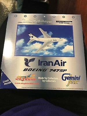Iran Air Boeing 747SP Limited Edition Diecast Model 1:400 Scale Gemini Jets