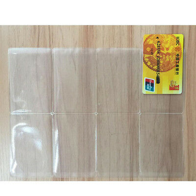 7911ccb78850 HONBAY 10PCS PASSPORT Cover Plastic ID Card Protector Case (clear ...