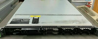 DELL PowerEdge R610 Xeon 2.4GHz 16 GB RAM 2 X 600GB SAS  HD Dual P/S 1RU
