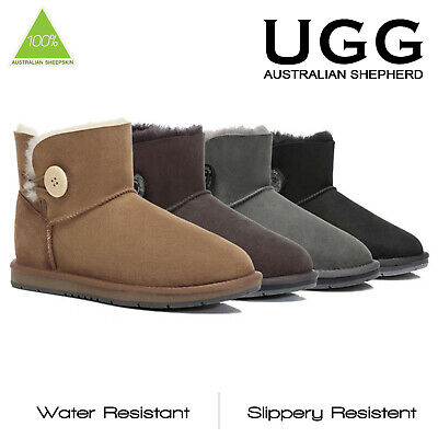 UGG Boots Premium Australian Sheepskin Mini Classic Water Resistant Ankle Boots