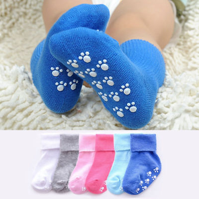 Cute Baby Anti-slip Socks Boy Girl Anti-slip Cotton Newborn Infant Toddler Socks