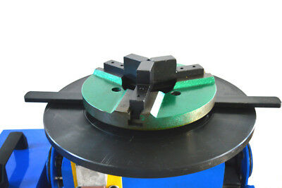 New 110V Machine 30KG Duty Welding Positioner Turntable Timing with 200mm Chuck