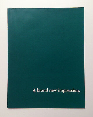 Vintage 1988 FOLD-OUT POSTER Advertisement: IBM Personal System/2 New Impression