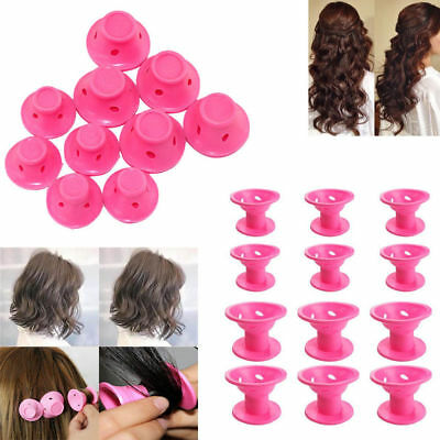 30 PCS Silicone No Heat Hair DIY Curlers Magic Soft Rollers Hair Care Tool