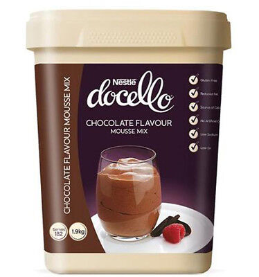 Nestle Docello Chocolate Mousse 1.9kg