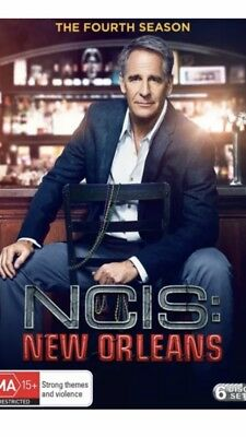 NCIS New Orleans The Fourth Season 4 DVD Region 4 Brand New
