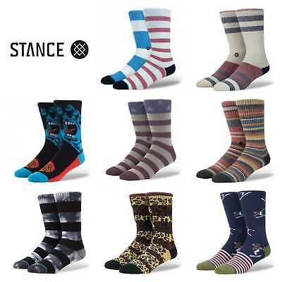 Stance Socks Mens Crew Athletic Authentic Socks Size Large (9-12) BUY 2 GET 3