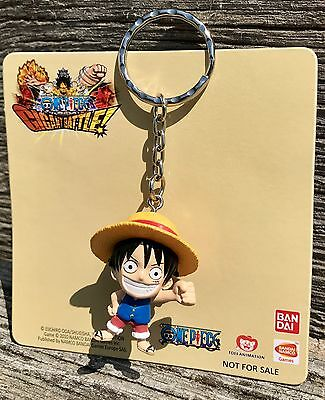 RARE Original Monkey D. Luffy Ruffy Figure Keychain - One Piece Gigant Battle!