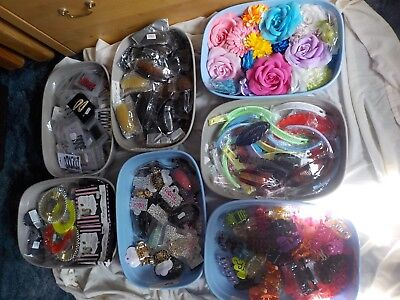 Car Boot/Fair Huge lot Fashion Jewellery & Hair Accessories. Hundreds of items
