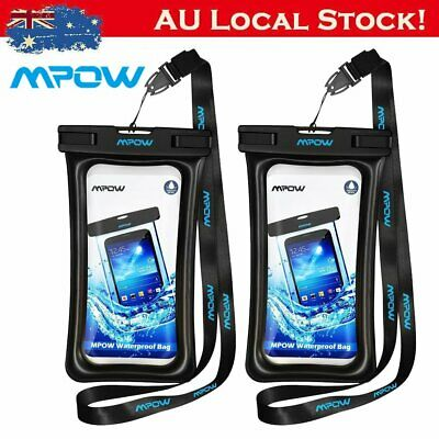 MPOW Waterproof Underwater Cell Phone Case Pouch Dry Bag fo iPhone/Galaxy/Huawei