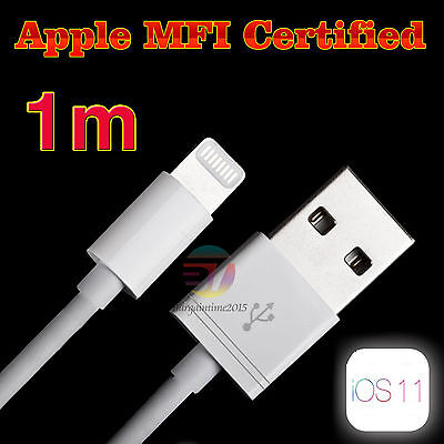 MFI Certified USB Sync Charger Data Cable for iPhone 5S 5C 6 6P 6s/Plus SE 7 7P