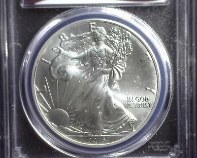 2016 American Silver Eagle PCGS MS69 First Strike Eagle Label 33599591