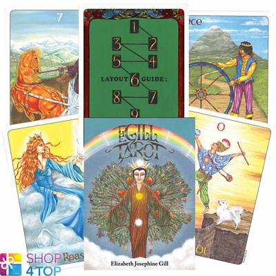 The Gill Tarot Deck Cards By Elizabeth Josephine Gill Us Games Systems New