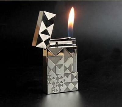 Lighter NEW S.T Memorial lighter Bright Sound! silver color lighter