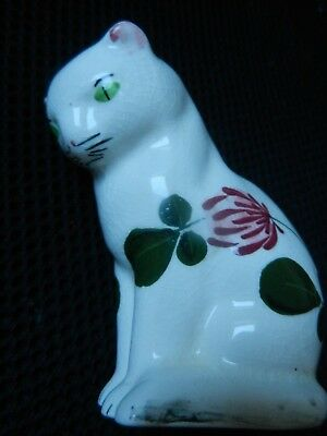 PLICHTA  CAT  ART POTTERY    9 cm