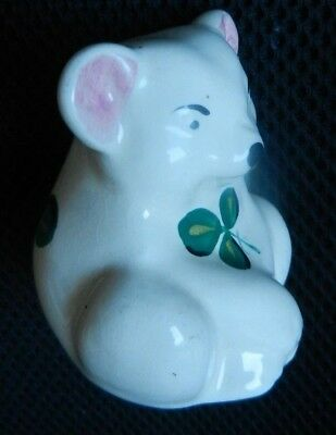 PLICHTA  BEAR  ART POTTERY    6.5 cm