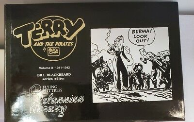 Terry and the Pirates Vol 8   1941-1942    Flying Buttress    HC   Vintage