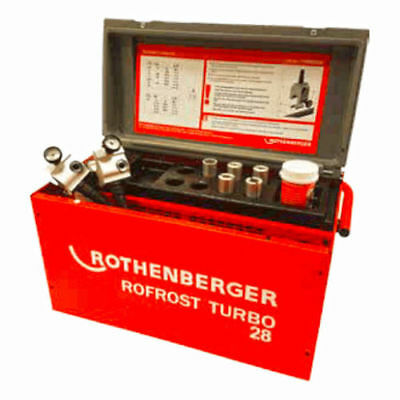 Rothenberger Rofrost Turbo 28 Electric  Pipe Freezing Kit  PN  15002699
