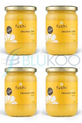 Fushi Grass Fed Organic Ghee - 420g (Pack of 4)