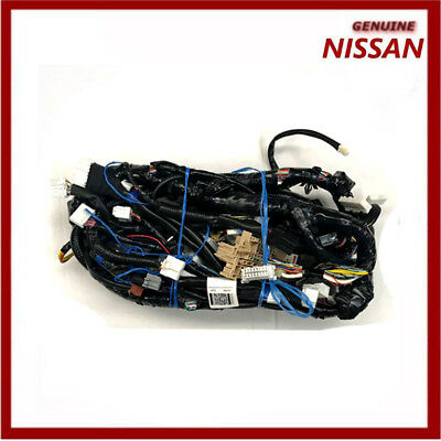 Genuine Nissan Note Main Wiring Harness for Navigation & A/C. 24010BH38D New!