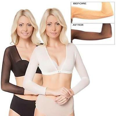 ARMORE SECRET AMAZING SHAPEWEAR Arm Sleeve Shapewear Sexy Crop Tops Slimming