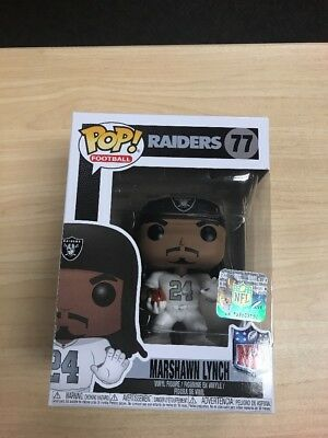 Funko Pop NFL Wave 4 Oakland Raiders Marshawn Lynch  77 Vinyl Figure NIB 9cff9da1e