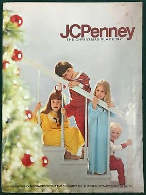 PENNEYS 1971 CHRISTMAS CATALOG WISH BOOK 200+ pages of toys, dolls, slots, bikes