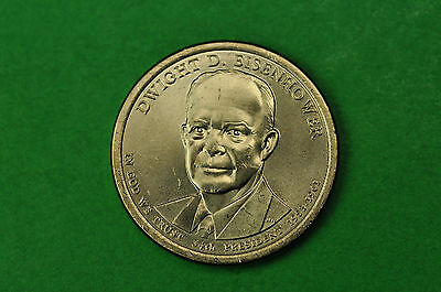 2015-P BU Mint State (Dwight D Eisenhower) US Presidential One Dollar Coin