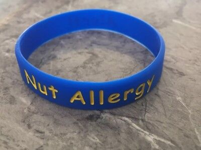 Alert Smart NUT ALLERGY Emergency Immobility Condition To Identify If Pass Out