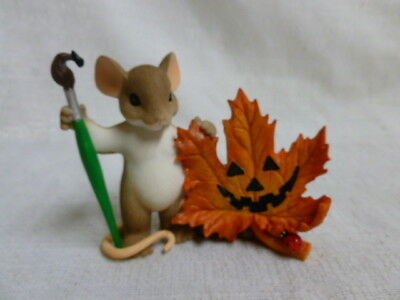 Charming Tails Leave A Smile Wherever You Go 4046778 Fall Mouse Halloween