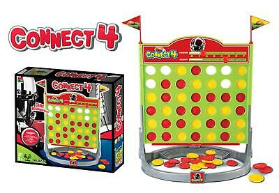 Connect 4 In A Row Four In A Line Board Game Family Fun X-Mas Game