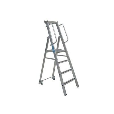 Zarges 341634 Mobile Mastersteps Platform Height 1.32m 5 Rungs