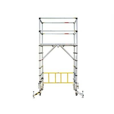 Zarges TT002 TT002 Teletower Aluminium Telescopic Scaffold Tower with Toeboards
