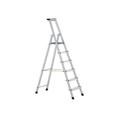 Zarges 41226 Anodised Trade Platform Steps Platform Height 1.32m 6 Rungs