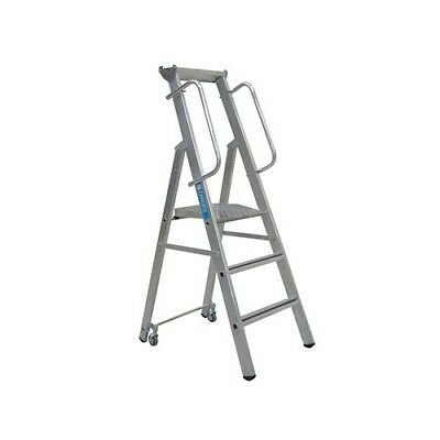 Zarges 341632 Mobile Mastersteps Platform Height 0.78m 3 Rungs