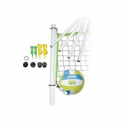 Volleyball Net Portable Set Outdoor Backyard Adjustable by F Sports