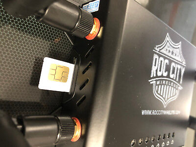 4G LTE Router Hotspot Wifi for T-Mobile and AT&T SIM Cards  RocCity Router