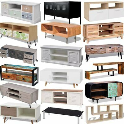 Home TV Cabinet Chipboard Various Material Modern Living Room Storage Cabinet UK