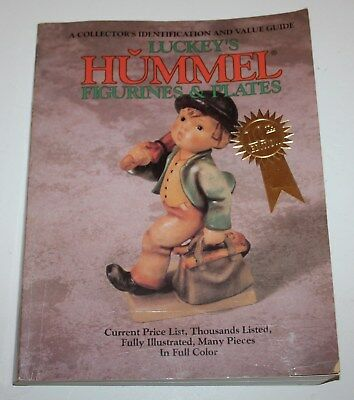 Luckey's Hummel Figurines & Plates Collector's Id & Value Guide 1994 Book