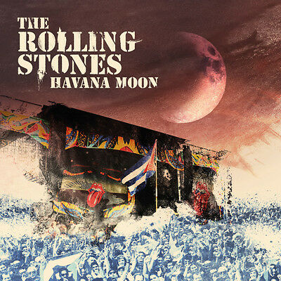 Havana Moon - Rolling Stones The 2 CD & DVD Set Sealed ! New !