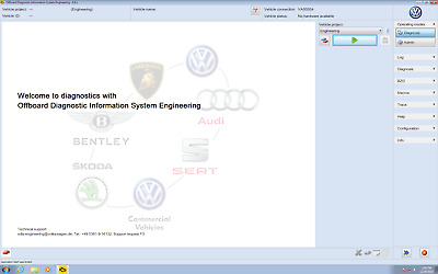 Soft for ODIS Engineering 6.6.1 and VAS5054a. VAG - VW Audi & so. Downloadable