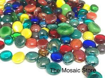 Kaleidoscope Mini Mixed Glass Gems - Mosaic Tiles Supplies Art Craft